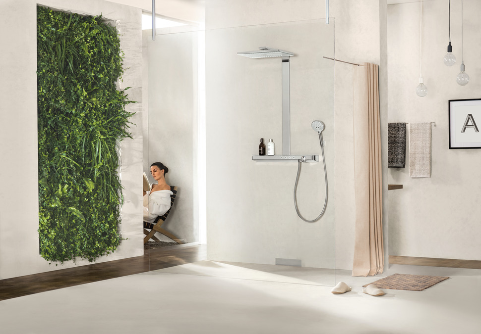 картинка 27106400 Rainmaker Select 460 3jet Showerpipe  от магазина Hansgrohe.SALE