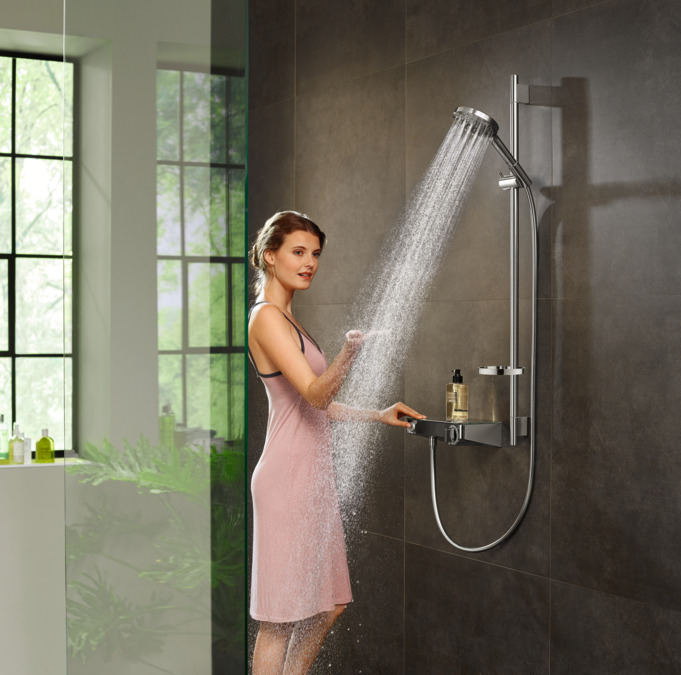 картинка 13171000 Термостат для душа Shower TabletSelect 300, BM,  ½' от магазина Hansgrohe.SALE